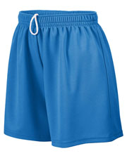 Augusta 961 Girl's Wicking Mesh Short at GotApparel