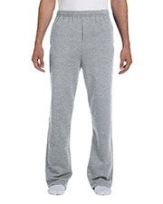 Jerzees 974MP Men 8 oz., 50/50 NuBlend Open-Bottom Sweatpants at GotApparel