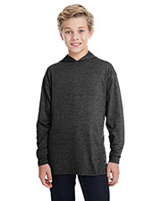 Anvil 987B Boys Long-Sleeve Hooded T-Shirt at GotApparel