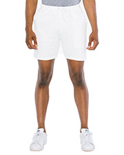 Custom Embroidered American Apparel A54239W Men 7.2 oz California Fleece Gym Short at GotApparel
