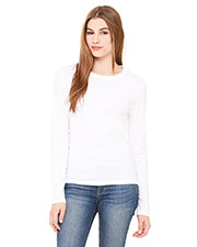 Bella + Canvas B6500 Women Jersey LongSleeve T-Shirt at GotApparel