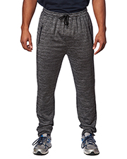 Burnside BU8801 Men 6 oz Heather Perfomance Jogger Pant at GotApparel