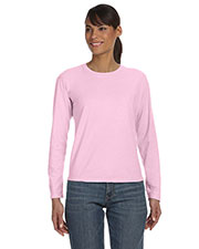 Comfort Colors C3014 Women Ringspun GarmentDyed LongSleeve T-Shirt at GotApparel
