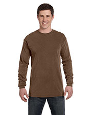 Comfort Colors C6014 Men Ringspun Garment-Dyed Long-Sleeve T-Shirt at GotApparel