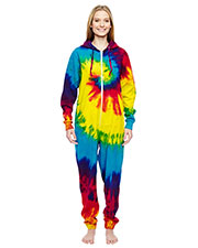 Tie-Dye CD892 Girls All-In-One Loungewear at GotApparel