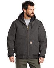 Carhartt CTSJ140 Men ® Quilted-Flannel-Lined Duck Active Jac. at GotApparel