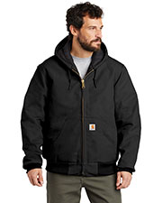 Carhartt CTTSJ140 Men ® Tall Quilted-Flannel-Lined Duck Active Jac. at GotApparel