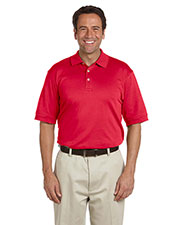 Devon & Jones Classic D140S Men Solid Perfect Pima Interlock Polo at GotApparel
