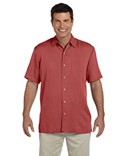 Devon & Jones Classic D670 Men Isla Camp Shirt at GotApparel