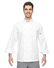 Dickies DC109 Adult 7 oz. Cloth Knot Button Chef Coat at GotApparel