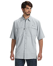 Dri Duck DD4406 Men short sleeve Catch Fishing Shirt at GotApparel