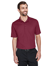 Devon & Jones DG20 CrownLux Performance Men 5.1 oz Plaited Polo at GotApparel