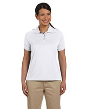 Devon & Jones Sport DG375W Women's Dri-Fast™Advantage™Colorblock Mesh Polo at GotApparel