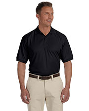 Devon & Jones Blue DG385 Men Dri-Fast Advantage Solid Mesh Polo at GotApparel