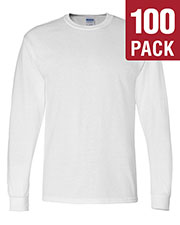 Gildan G840 Men Dryblend 5.6 Oz. 50/50 Long-Sleeve T-Shirt 100-Pack at GotApparel
