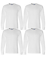 Gildan G840 Men Dryblend 5.6 Oz. 50/50 Long-Sleeve T-Shirt 4-Pack at GotApparel