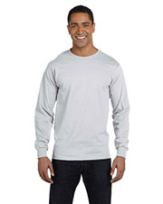 Fruit of the Loom HD6LR Men 6 oz., 100% Cotton Lofteez HD LongSleeve T-Shirt at GotApparel