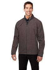 TRI-MOUNTAIN GOLD J6468 Men Overland Micro Fleece Breathable Soft Shell Jacket at GotApparel