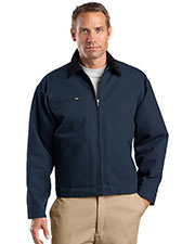 CornerStone® TLJ763 Men's Tall Duck Cloth Work Jacket at GotApparel