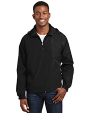 Sport-Tek JST73 Men Hooded Raglan Jacket at GotApparel