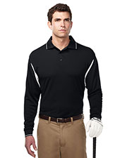 TRI-MOUNTAIN PERFORMANCE K118LS Men Action Long Sleeve Waffle Knit at GotApparel
