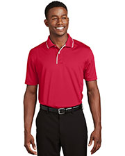 Sport-Tek K467 Men Dri-Mesh Polo with Tipped Collar and Piping at GotApparel