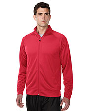 TRI-MOUNTAIN PERFORMANCE K630 Men Exocet Knit Full Zip Jacket at GotApparel