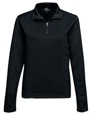 TRI-MOUNTAIN PERFORMANCE KL628 Women Clementon Knit 1/4 Zip Pullover TMP puller at GotApparel