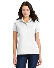 Port Authority L497 Women Poly Bamboo Charcoal Blend Pique Polo at GotApparel