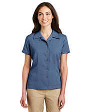 Port Authority L535 Women Easy Care Camp Shirt at GotApparel