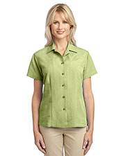 Port Authority L536 Women Patterned Easy Care Camp Shirt at GotApparel