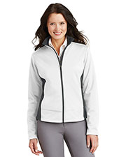 Port Authority L794 Women Two-Tone Soft Shell Jacket at GotApparel