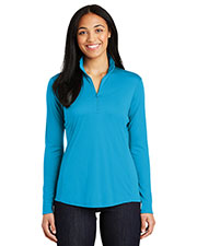 Sport-Tek® LST357 Women PosiCharge® Competitor™ 1/4-Zip Pullover  Raglan at GotApparel