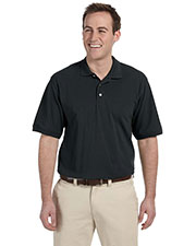 Harriton M265 Men 5.6 oz. Easy Blend Polo at GotApparel