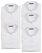 Harriton M315W Women 4 Oz. Polytech Polo 5-Pack at GotApparel