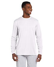 Harriton M320L Men 4.2 Oz. Athletic Sport Long-Sleeve T-Shirt at GotApparel