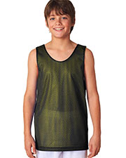 A4 Drop Ship N2206 Boy's Reversible Mesh Tank Shirt at GotApparel