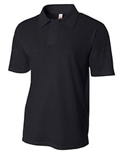 A4 N3262 Men Warp Knit Performance Polo at GotApparel