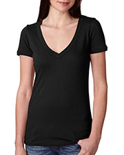 Next Level 3540 Women The Deep V at GotApparel