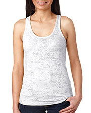 Next Level N6533 Women The Burnout Racerback Tank at GotApparel