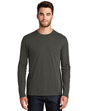 New Era NEA102 Men ® Heritage Blend Long Sleeve Crew Tee. at GotApparel