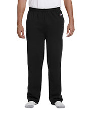 Custom Embroidered Champion P800 Men Eco 9 Oz. Open Bottom Fleece Pant With Pocket at GotApparel