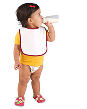 Rabbit Skins R1003 Infants Snap Bib at GotApparel