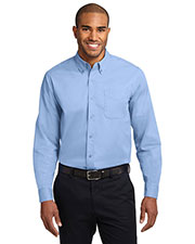 Port Authority® S608ES Men's Extended Size Long-Sleeve Easy Care Shirt at GotApparel