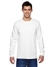 Fruit of the Loom SFLR Men 4.7 oz., 100% Sofspun Cotton Jersey LongSleeve T-Shirt at GotApparel