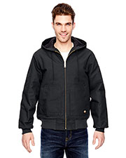 Dickies TJ718 Men's 10 oz. Hooded Duck Jacket at GotApparel