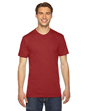 Custom Embroidered American Apparel TR401W Men 3.7 oz Triblend Short-Sleeve Track T-Shirt at GotApparel