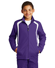 Sport-Tek® YST60 Boys Colorblock Raglan Jacket at GotApparel