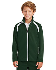 Sport-Tek® YST90 Boys Tricot Track Jacket at GotApparel