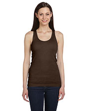 Bella + Canvas B4070 Women 2x1 Rib Racerback Longer Length Tank at GotApparel